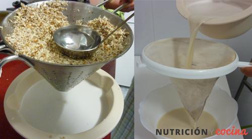 receta de horchata casera