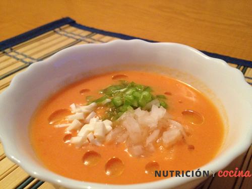 receta de gazpacho casero