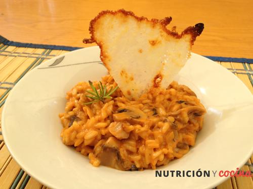 receta de risotto de setas y parmesano, recetas arroz