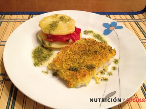 recetas de pescado al horno, crujiente de pescado, recetas saludables