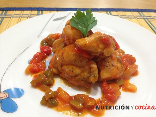 pollo al chilindrón, recetas caseras y recetas de pollo