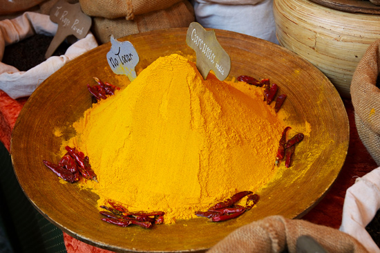 curry curcuma especias