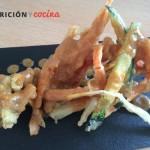 Ensalada de tempura