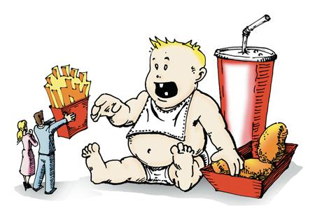 abordaje de la obesidad infantil, medidas politicas