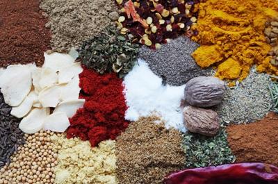 especias y tipos de pimienta