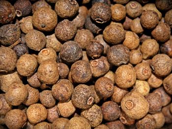 especias y tipos de pimienta, pimienta de Jamaica