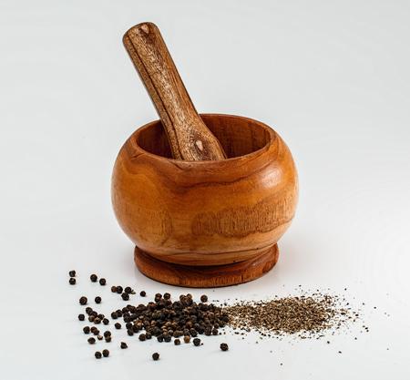 especias y tipos de pimienta, pimienta negra