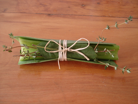 hierbas aromáticas, bouquet garni