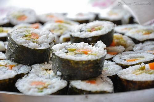 uso de algas en la cocina, recetas de alga nori
