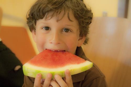 consumo de fruta en la alimentación infantil