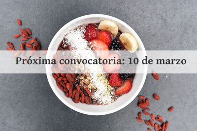 talleres y cursos de cocina y nutrición, curso de nutrición vegana