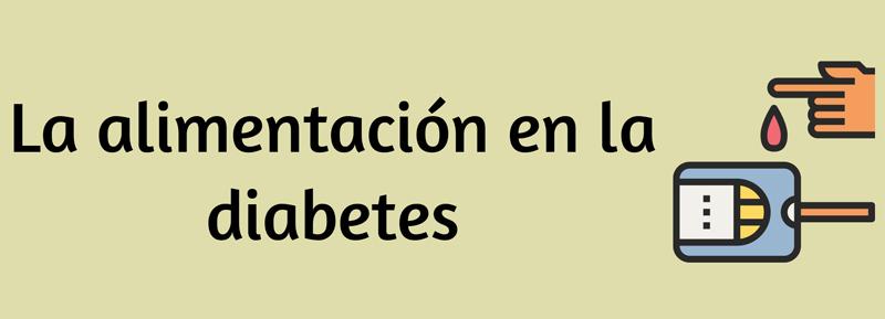 infografía diabetes alimentación nutrición