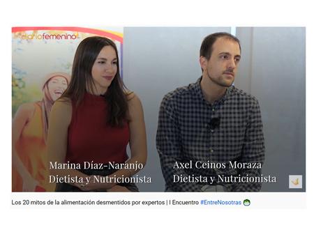noticias y vídeos de nutrición y cocina, diario femenino