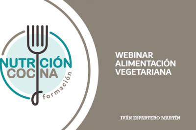 webinar alimentacion vegetariana, cursos online nutricion